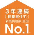 2年連続[建築家住宅]No.1